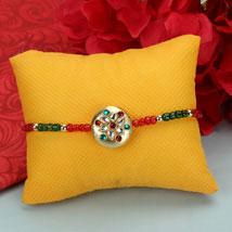 Hearty Wish Premium Rakhi: Send Kundan Rakhi