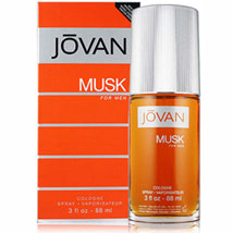 JOVAN MUSK Cologne Spray 3 OZA: Send Perfumes for Him