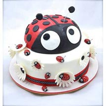 Lady Bird Cake: Send Red Velvet Cakes to Bangalore