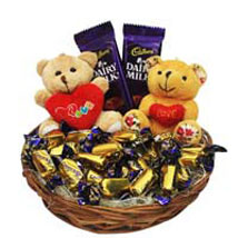 Love Rules Hamper: Romantic Gift Baskets