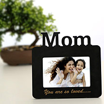 Lovely Mom Personalized Frame: Mothers Day Personalised Photo Frames