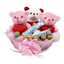 Lovey Dovey Basket: Anniversary Gift Baskets