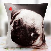 Loving the Pet Personalized Cushion: Anniversary Gifts for Bhaiya Bhabhi