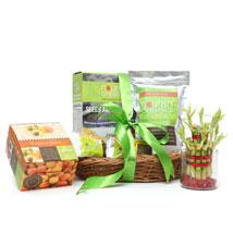 Lucky Bamboo and Nourish Organics: Womens Day Gift Baskets