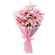 Luxurious Lillies: Birthday Flowers Ghaziabad