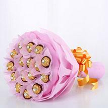 Send easter gifts online shop easter gift ferns n petals luxury ferrero rocher easter negle Images