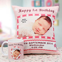 Memories The Personalized Combo: Personalised Cushions for Him