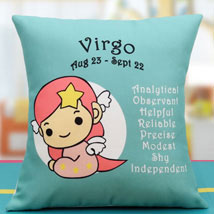 Modesty of the Virgo: Send Cushions