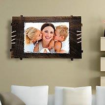 Mother Personalized Wall Frame: Send Mothers Day Personalised Photo Frames