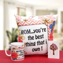 Munificent Mommy: Gifts to Ahmednagar
