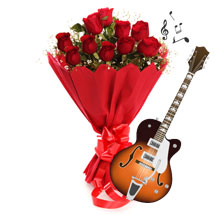 Music to the Heart: Valentines Day Flower Bouquets