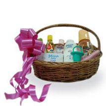 New Baby Basket: Send New Born Gift Baskets