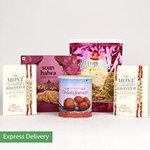 O So Tasty Rakhi: Rakhi Gifts for Brother