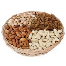 One kg Dry fruits Basket: Send Gifts for Lohri
