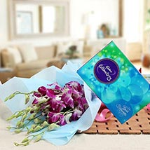 Orchids Enchantment: Flowers & Chocolates - New Year
