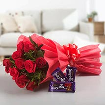 Passionated For Love: Christmas Flowers & Chocolates