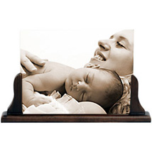 Personalised Gold Metal Frame For Mom: Thank You Photo Frames