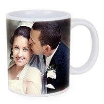 Personalized Couple Photo Mug: Valentine Personalised Gifts for Husband