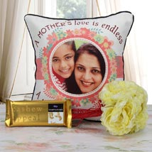 Personalized Endless Love Combo: Cushions for Mother's Day