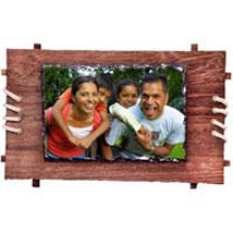 Personalized Framed Photo Rock: Valentine Personalised Photo Frames