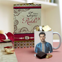 Personalized Rakhi Surprise: Rakhi With Mugs
