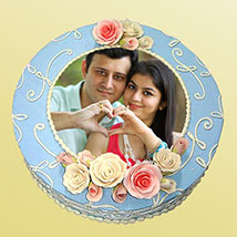 Photo Cake: Photo Cakes to Kanpur