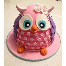 Pinki The Owl Cake