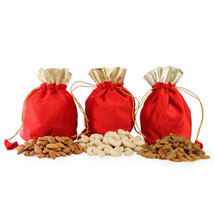 Potli Bags With Goodness Of Health: Dry Fruits