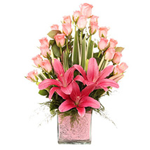 Powered By Pink: Send Lilies to Hyderabad