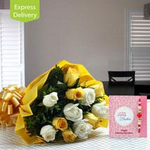 Rakhi Cheers: Send Rakhi with Flowers