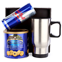 Red Bull and Cookies For Him: Gourmet Gifts