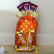 Red Chocolates Potli: Send Gift Hampers to Noida
