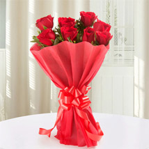 Red Roses Bouquet: Flowers to Kakinada