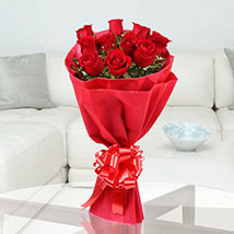 Red Stands For Love: Send Flowers to Agartala