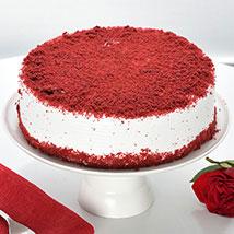Red Velvet Fresh Cream Cake: Red Velvet Cakes  Delivery