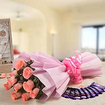 Rejoice Combo: Send Flowers & Chocolates for Propose Day