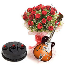 Rhythmic Charm of Love: Valentine Flowers for Him