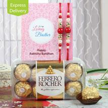 Rochery Rakhi Delight: Rakhi to Jaipur