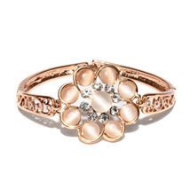 Rose Gold Plated Bracelet: Karwa Chauth Gifts for Bahu