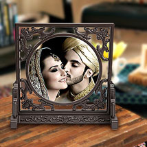 Royal Personalize Frame: Send Personalised Photo Frames - Rakhi