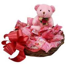 Teddy Is Scrumdelious Hamper: Birthday Gift Baskets