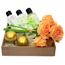 The Soothing Spa For Women: Valentine Cosmetics & Spa Hampers