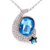 Trendy Silver plated Peacock necklaces: Karwa Chauth Gifts for Bahu