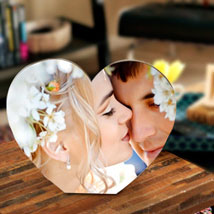 True Love Personalize Frame: Send Personalised Gifts to Hajipur