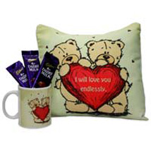 Warm and Cozy Love Hamper: Anniversary Sweets