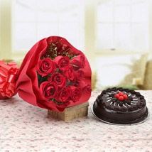 Warmest Wishes Combo: Valentine Flowers Howrah
