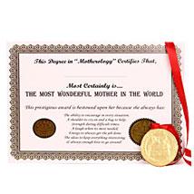 Wonderful Mommy Award: Send Thank You Chocolates