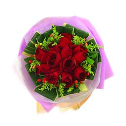 12 Red Roses Bouquet MAL