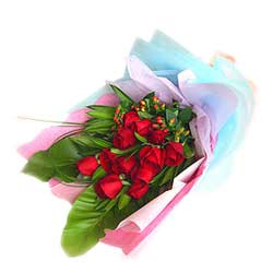 Bouquet of 12s Red Roses MAL