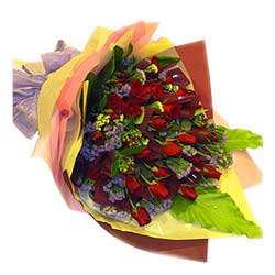 Bouquet of 36s Red Roses MAL